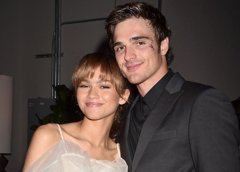 Zendaya and Jacob Elordi at the 'Euphoria' premiere