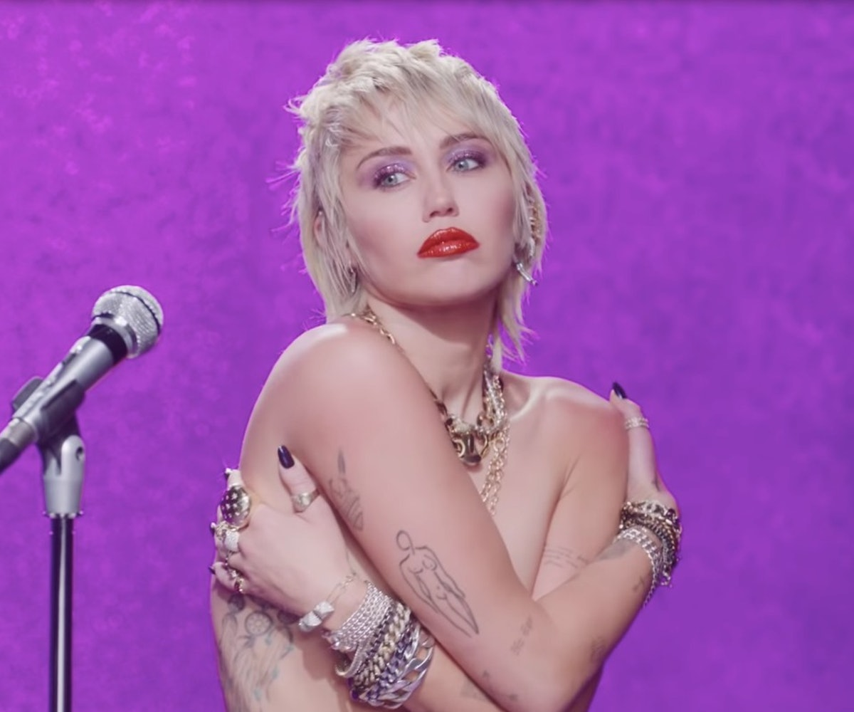 Miley Cyrus Shares New Song Self Directed Video Midnight Sky