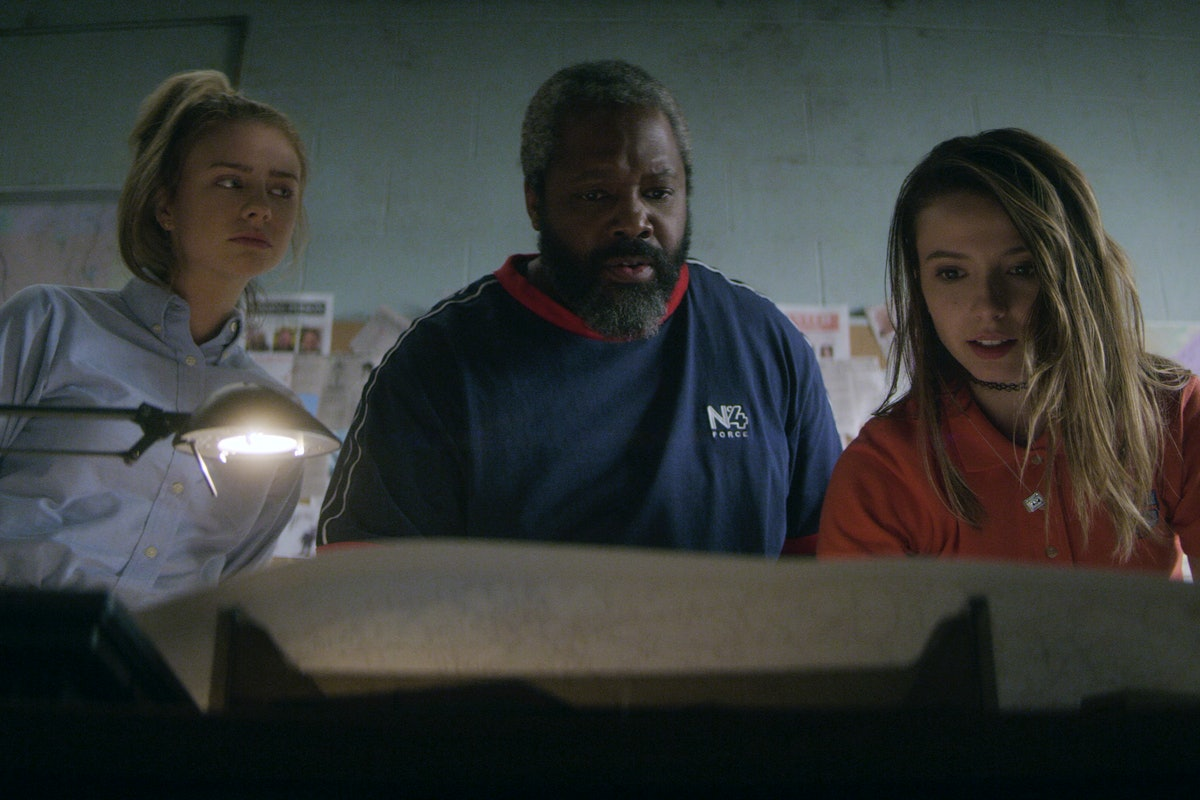 'Teenage Bounty Hunters' stars Maddie Phillips, Kadeen Hardison, and Anjelica Bette Fellini