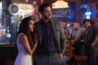 Eve and Lucifer in 'Lucifer' Season 4 via the Netflix press site
