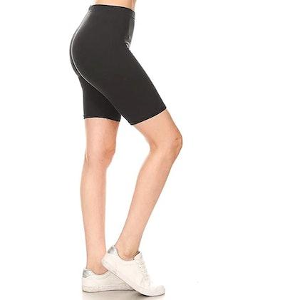 Leggings Depot Biker Shorts
