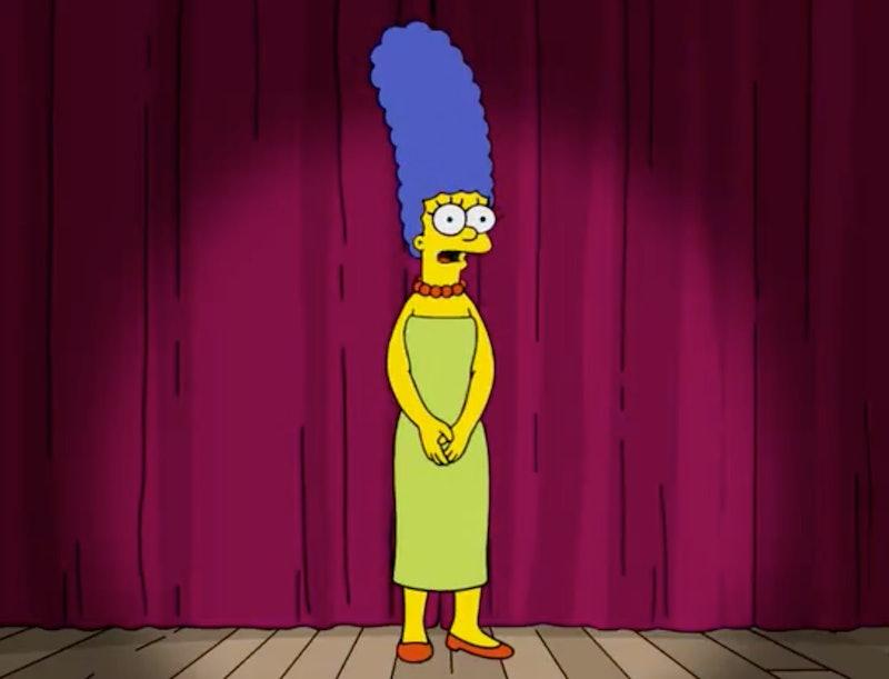 Marge Simpson responds to Trump adviser's jab about Kamala Harris
