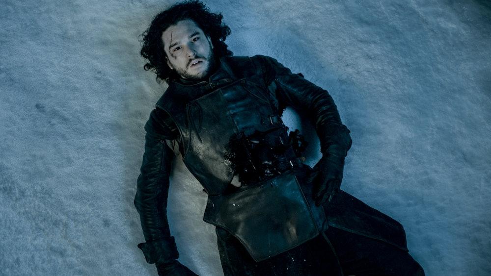 jon snow death game of thrones