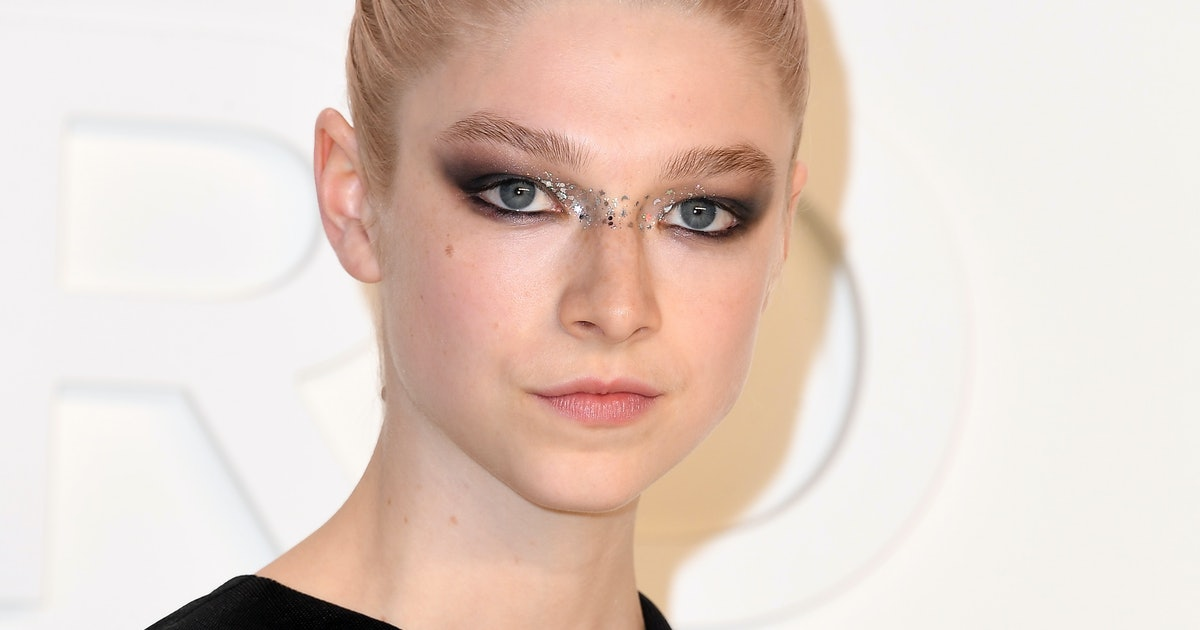 13 Best Hunter Schafer Beauty Moments That'll Inspire You To Put Gems On Your Face