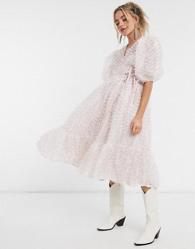 Dream Sister Jane midi wrap dress