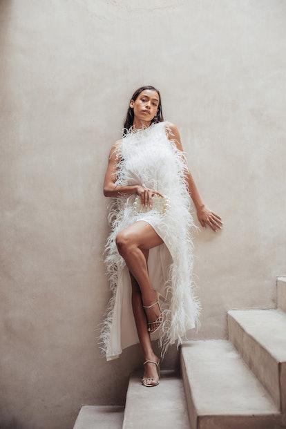 Emi Dress - Off White (PREORDER)