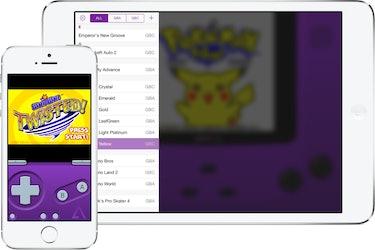 Screenshots of GBA4iOS.