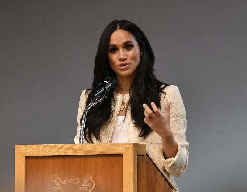 Meghan Markle talked about returning to the United States amid BLM protests and using her voice against racial injustice.