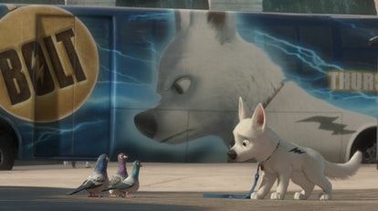 Bolt is part of Disney+'s dog content.