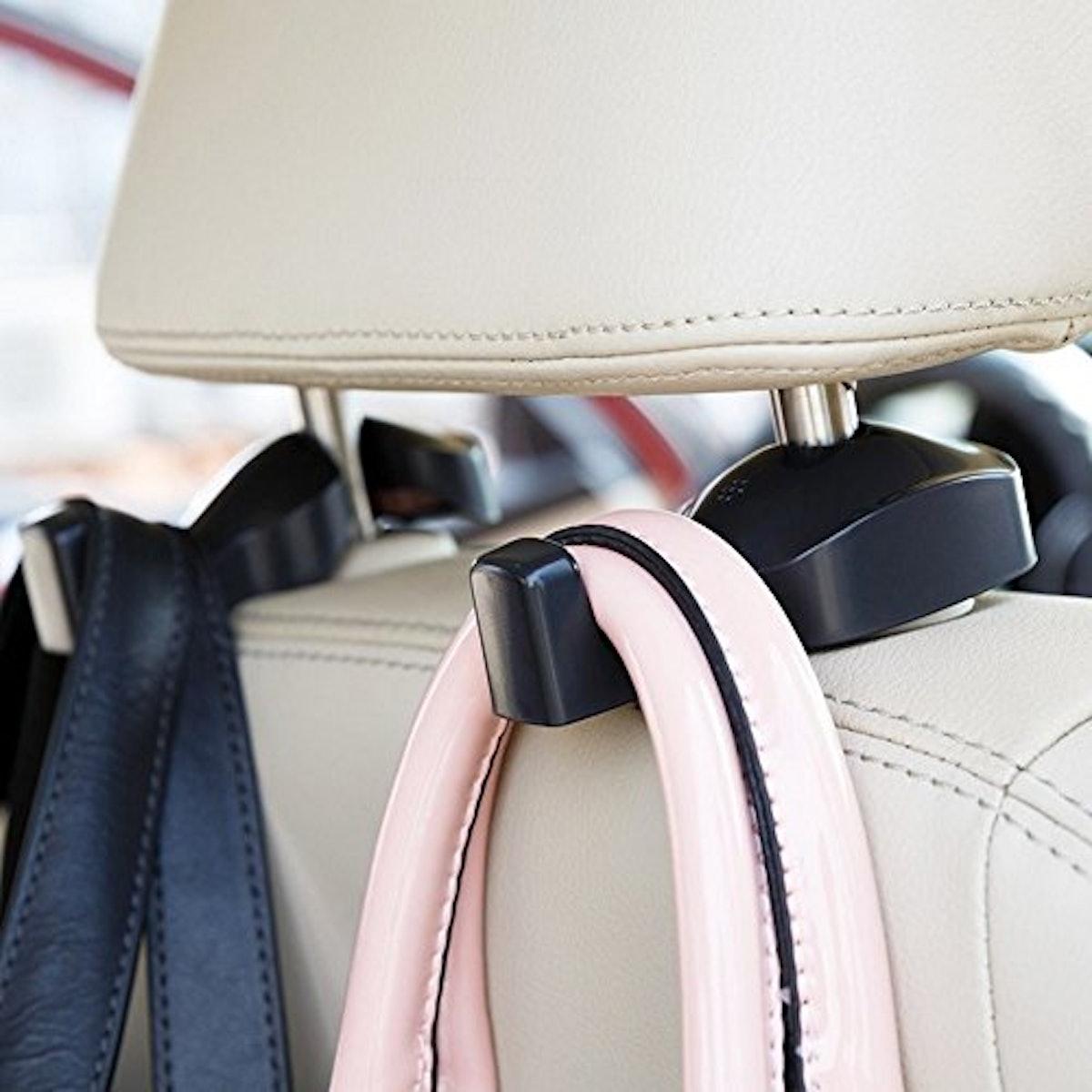 IPELY Universal Car Vehicle Back Seat Headrest Hanger Holder