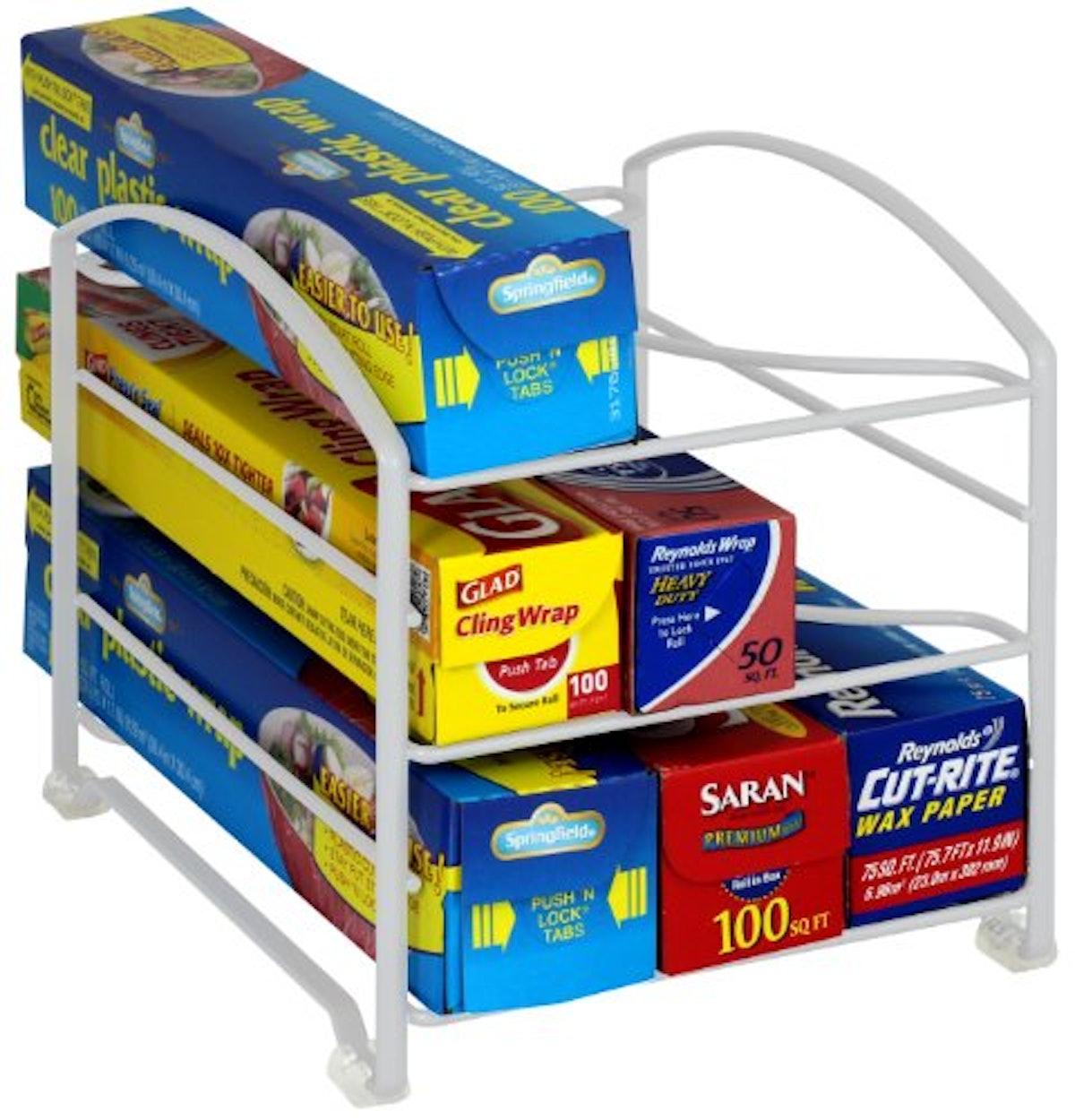 DecoBros Kitchen Wrap Organizer Rack