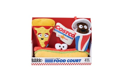 Here's where to get BARK's Costco Food Court dog toys