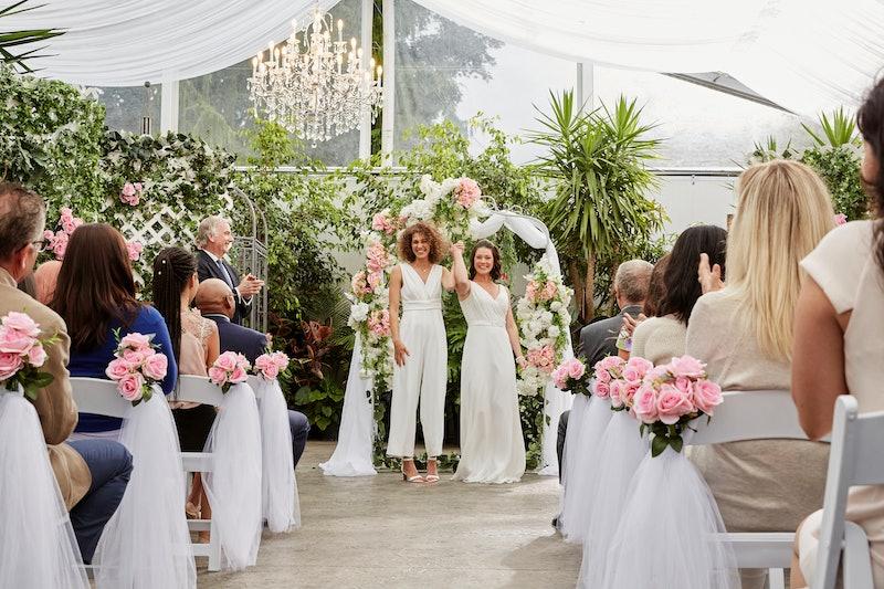 Hallmark Channel just aired its first LGBTQ+ wedding.