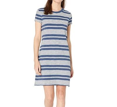 Amazon Brand - Goodthreads Heavyweight Cotton Slub T-Shirt Pocket Dress