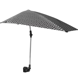 Sport-Brella SPF 50+ Adjustable Umbrella with Universal Clamp