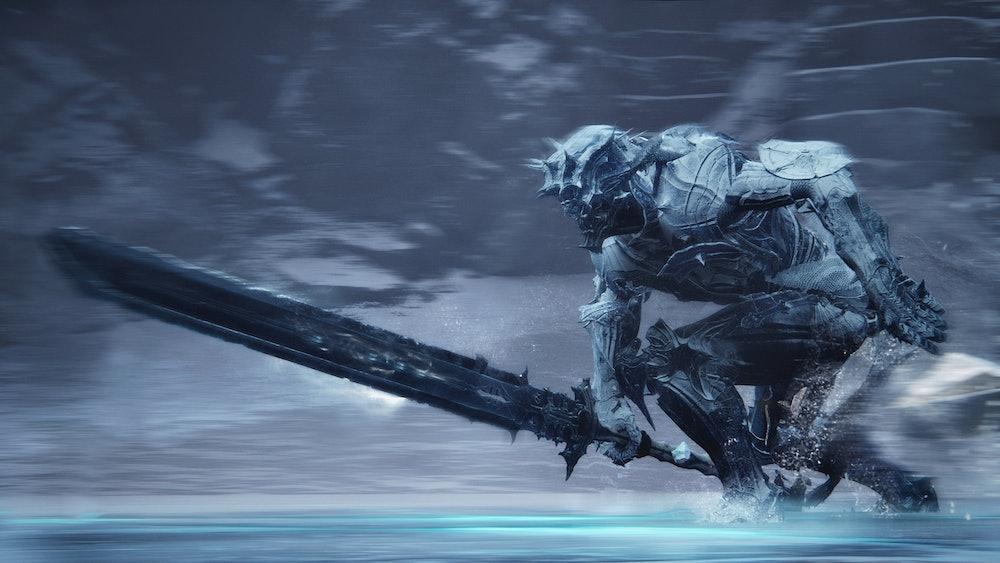 mortal shell ice boss sliding