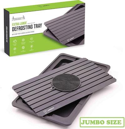 AMMOTI Extra Large Defrosting Tray