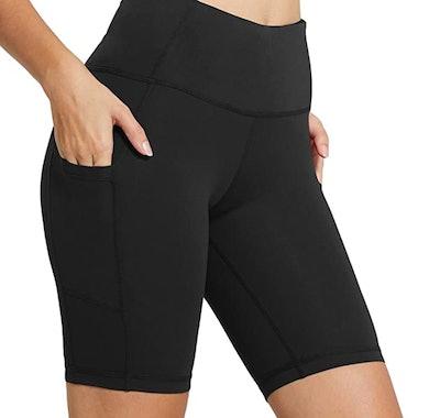 BALEAF Women's Exercise Shorts Side Pocket