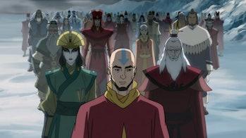 legend of korra avatar guiding