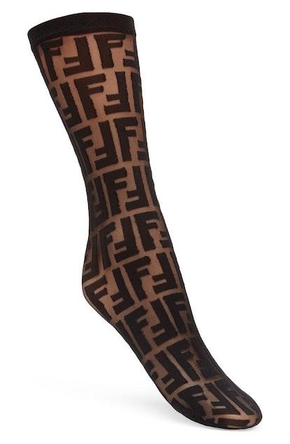 FF Sheer Crewneck Socks