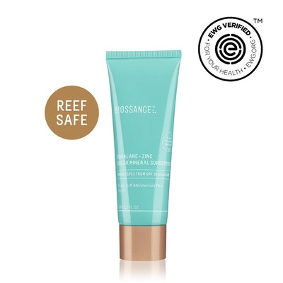 Squalane + Zinc Sheer Mineral Sunscreen