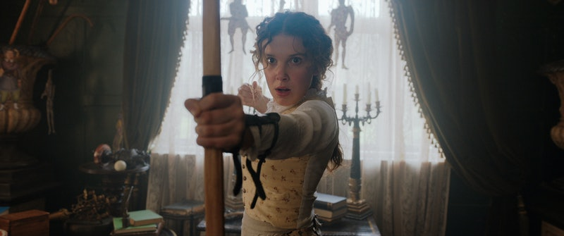 Netflix unveils the first teaser for Enola Holmes.