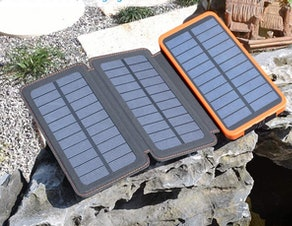 FEELLE Solar Power Bank Charger