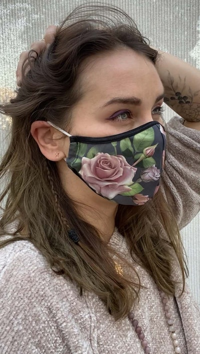 Roses Face Mask