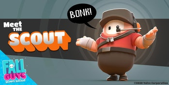Team Fortress 2, Fall Guys Crossover, Scout