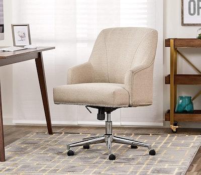 Serta Leighton Home Office Memory Foam Chair
