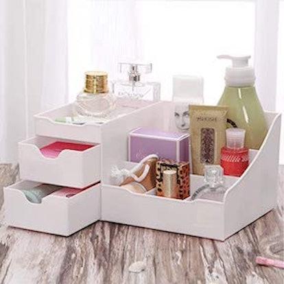 Uncluttered Designs Makeup Organizer