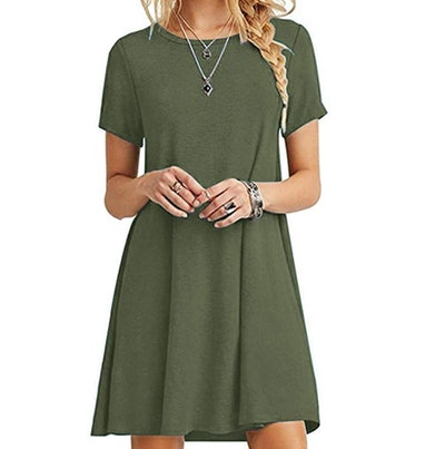 MOLERANI Women's Casual Loose Dress