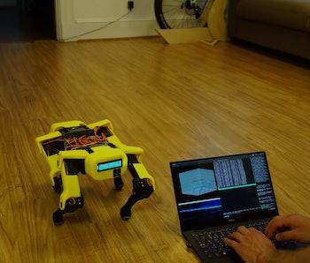 A Spot Micro Quadruped robot