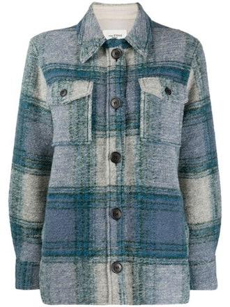 Gaston Plaid Shirt Jacket