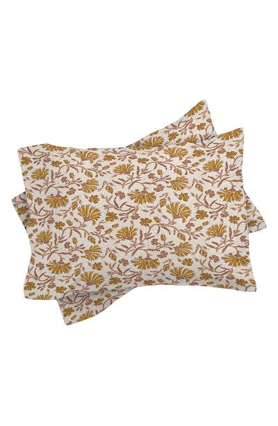 Deny Designs Floral Duvet Cover & Sham Set