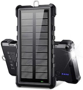 BEARTWO Portable Solar Power Bank