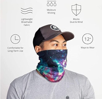 INTO THE AM Seamless, Cool  Neck Gaiter