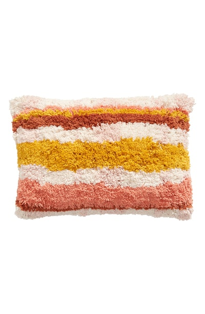 BP. Stripe Shag Accent Pillow
