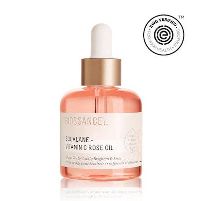 Squalane + Vitamin C Rose Oil