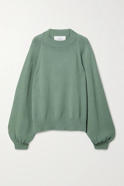 Oversized Cotton Sweater