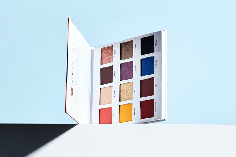 MFMG Cosmetics just launched its newest eyeshadow palette with shades named after influential Black ...