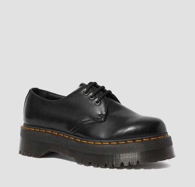 1461 Smooth Leather Platform Shoes