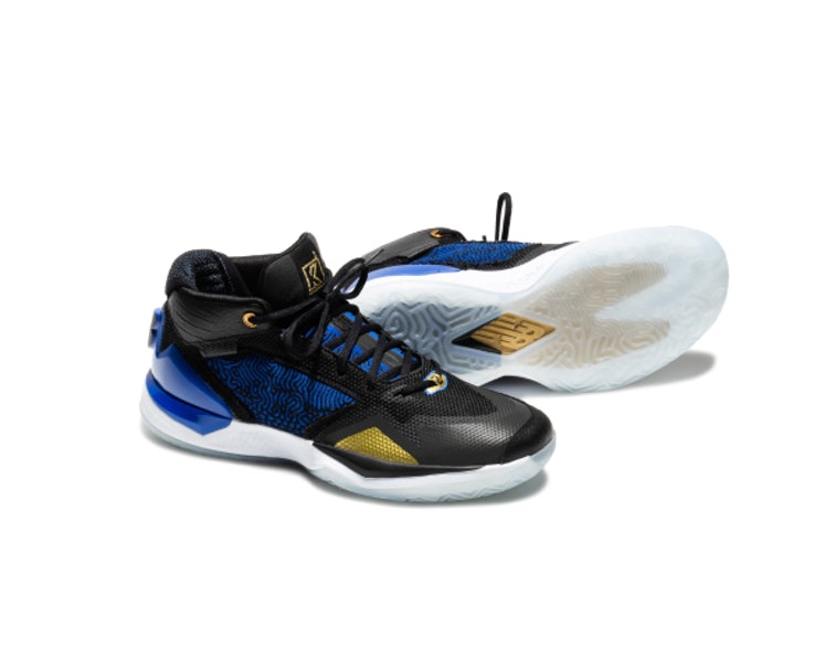 Surgir Comprensión Unirse  New Balance reveals Kawhi Leonard's first real signature shoe, the '4  Bounces'