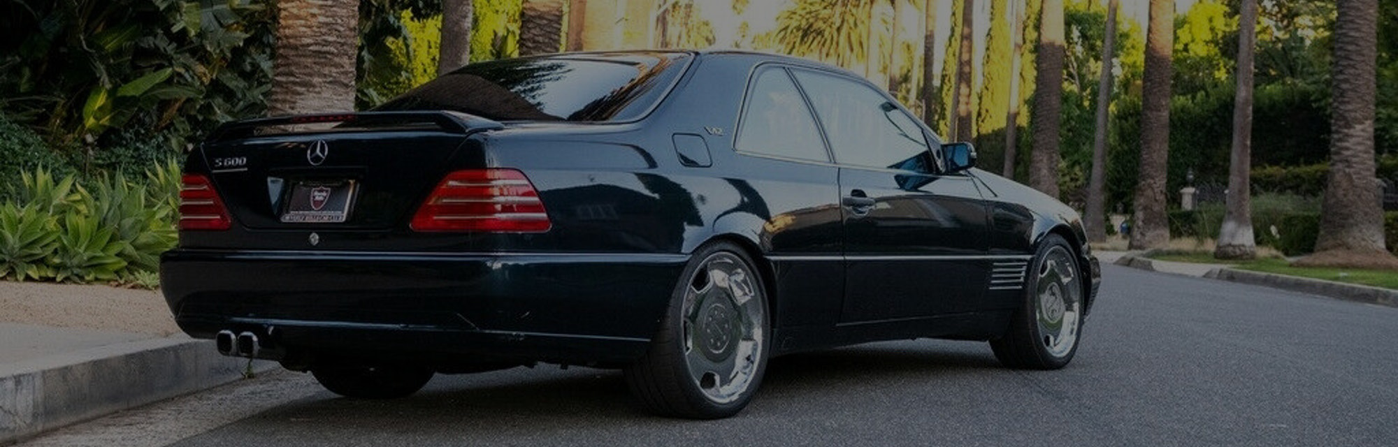 A 1996 Mercedes-Benz S-Class S600 once owned by Michael Jordan