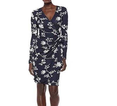 Amazon Brand - Lark & Ro Women's  Wrap Dress
