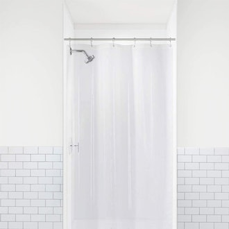 LiBa PEVA 8G Small Bathroom Shower Stall Curtain Liner