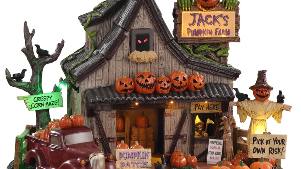 Michaels 2020 Halloween Village This Spooky Halloween Village At Michaels Is The Cutest Way To