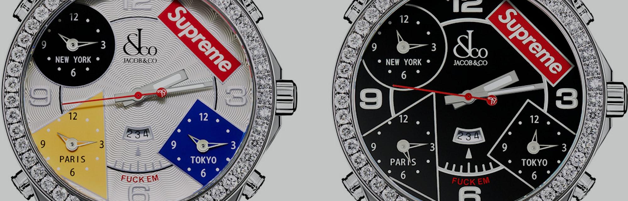 Supreme Jacob & Co. Diamond Watch