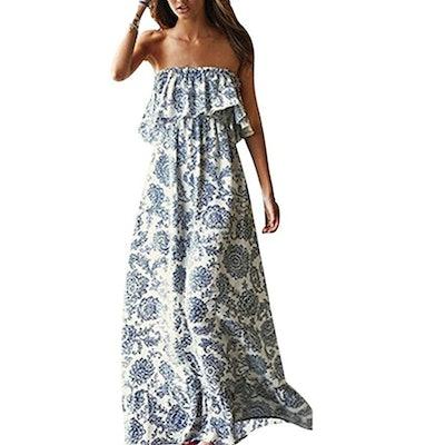 Yidarton Women Summer Long Dress