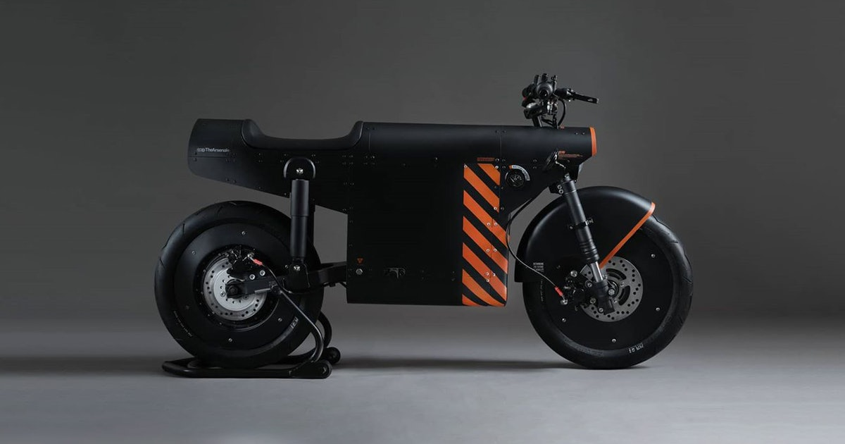 The Katalis EV.1000 is the stealth bomber of electric motorcycles